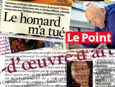 Le Point, Le Nouvel Obs, Télérama, etc